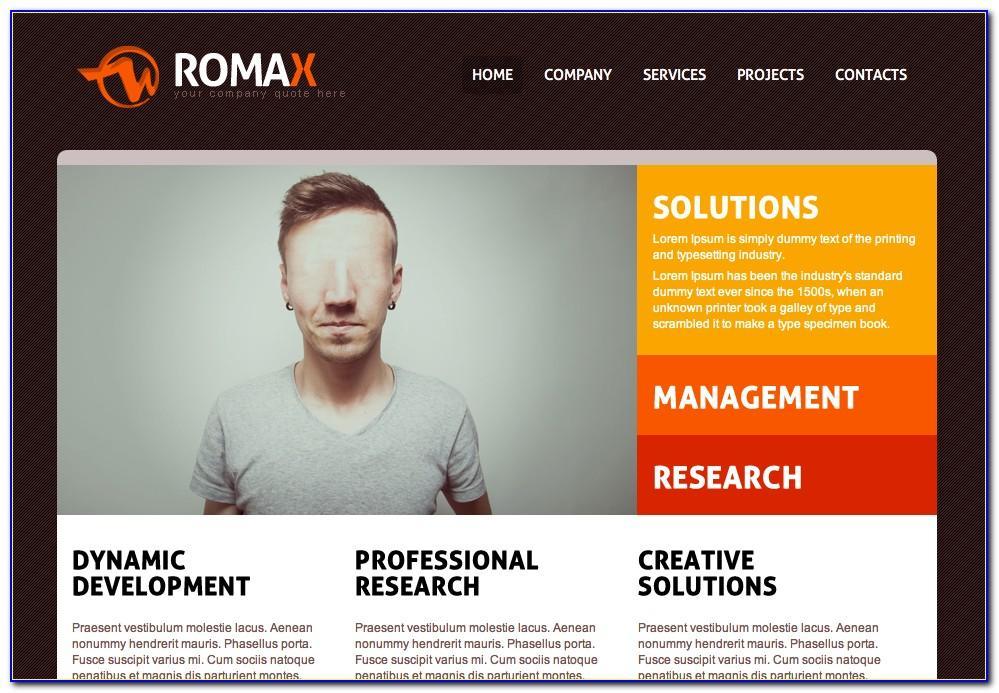 Sample Dreamweaver Website Templates Free