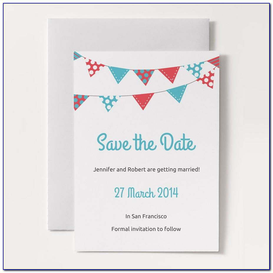 Save The Date Birthday Templates Free Printables