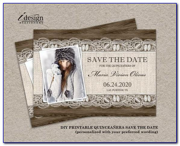 Save The Date First Birthday Templates Free