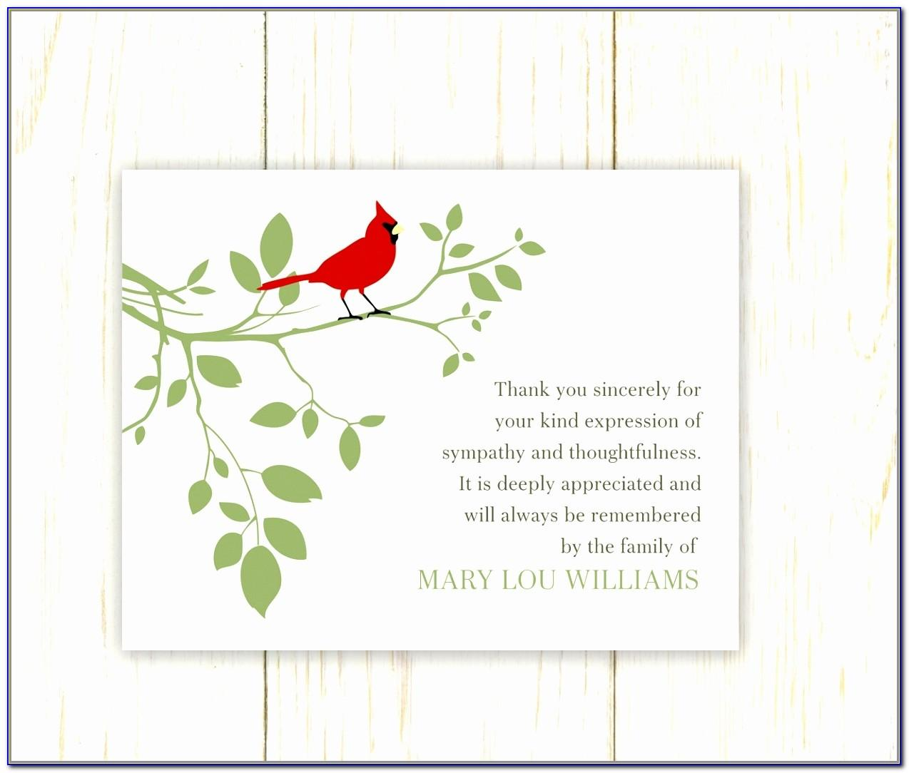 Sympathy Card Template Free
