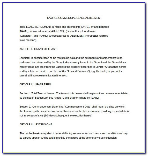 Termination Of Rental Agreement Template