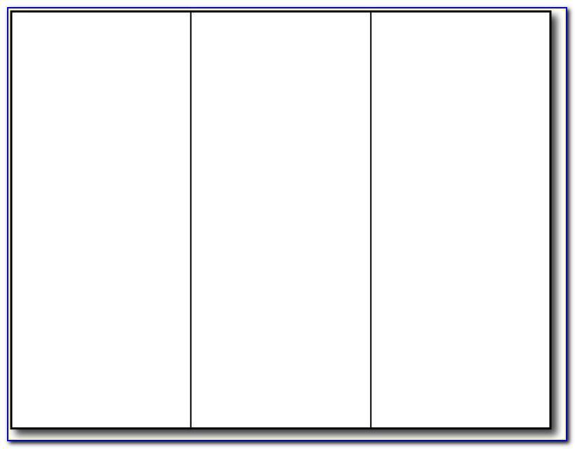 Tri Fold Pamphlet Template Google Docs