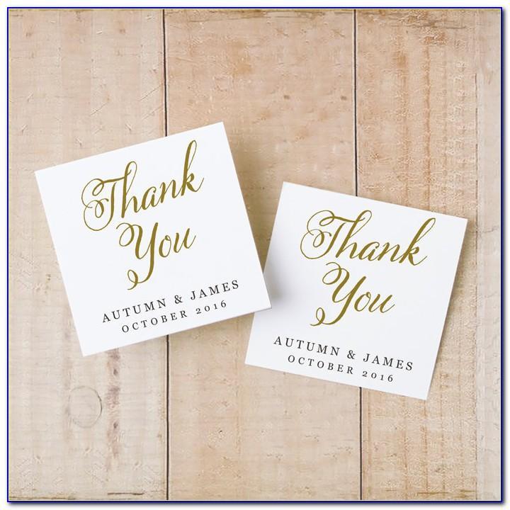 Wedding Favor Tag Template Printable