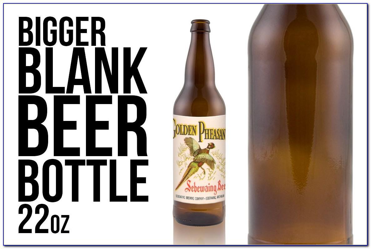 22 Oz Beer Bottle Label Template