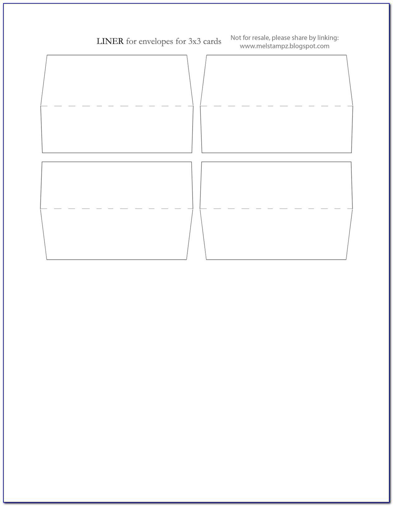 3x3 Square Label Template