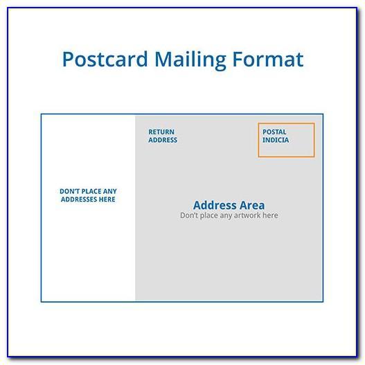 5.5 X 8.5 Postcard Template Word