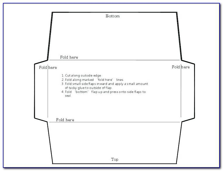 6x9 Catalog Envelope Template