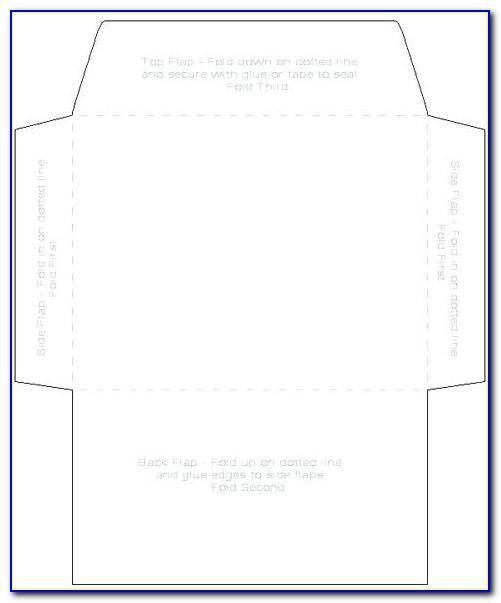6x9 Envelope Template Illustrator