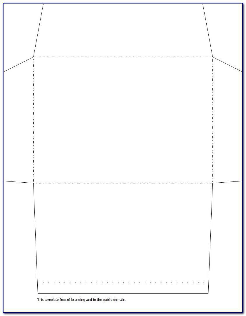 6x9 Envelope Template Word