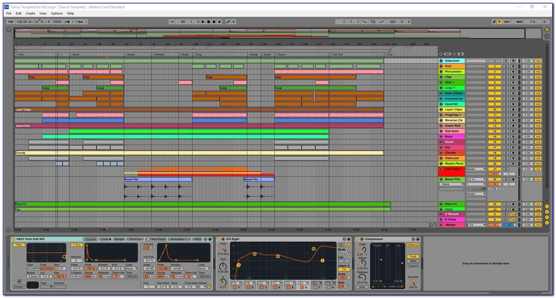Ableton Live 10 Templates Free
