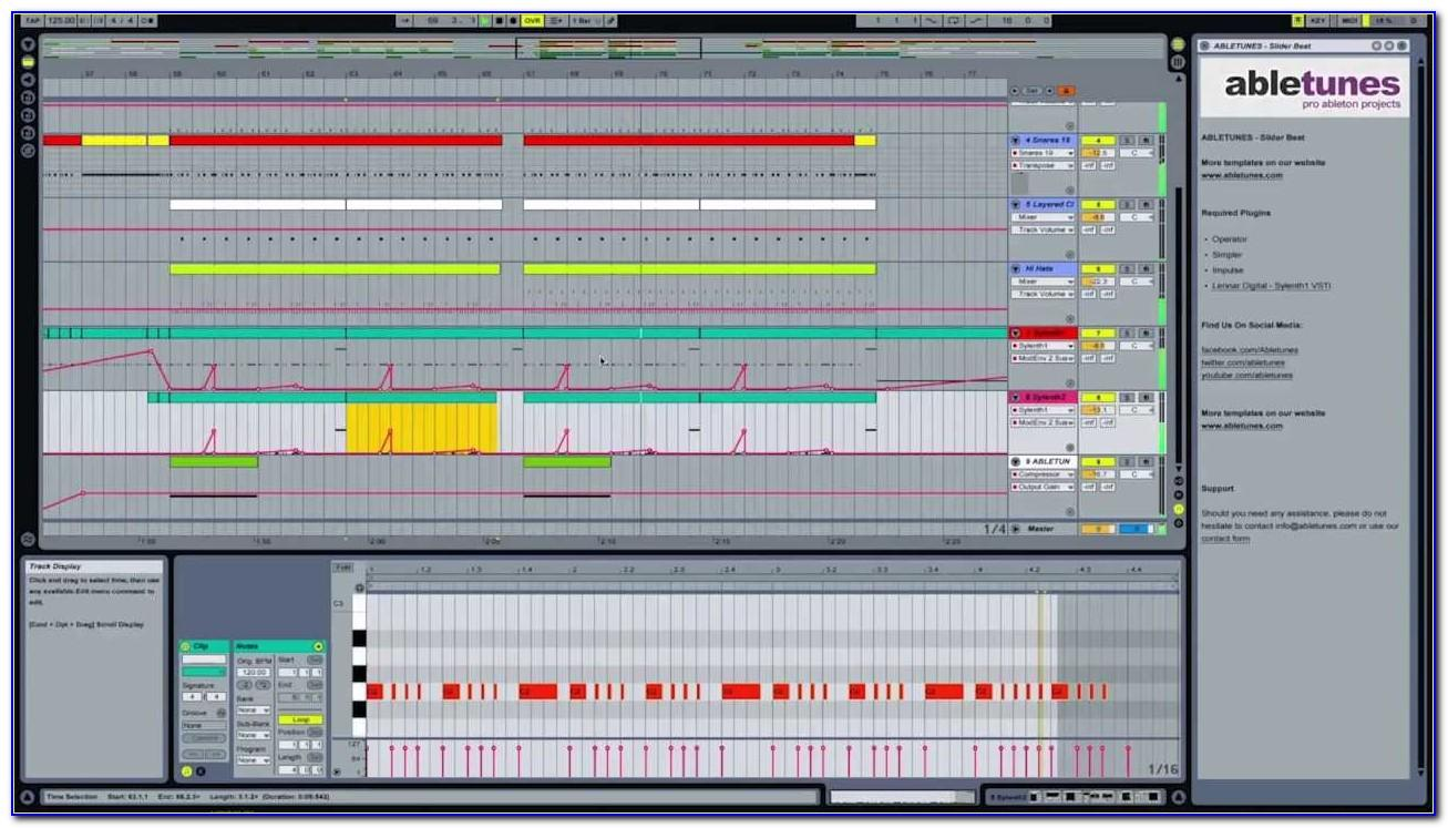 Ableton Live Song Templates