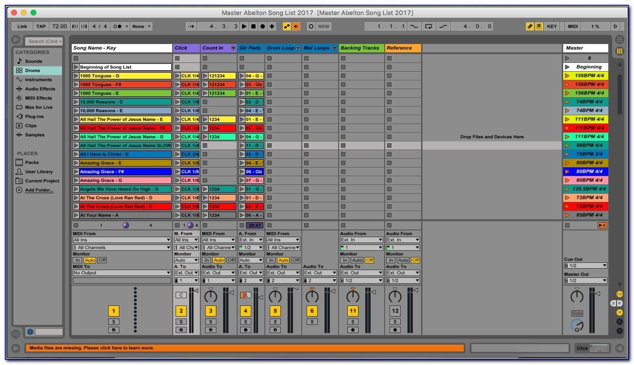 Ableton Live Templates Download