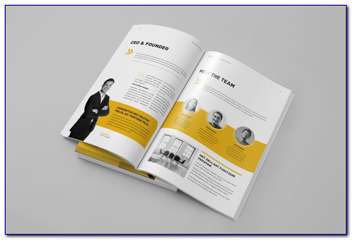 Adobe Indesign Business Plan Template Free