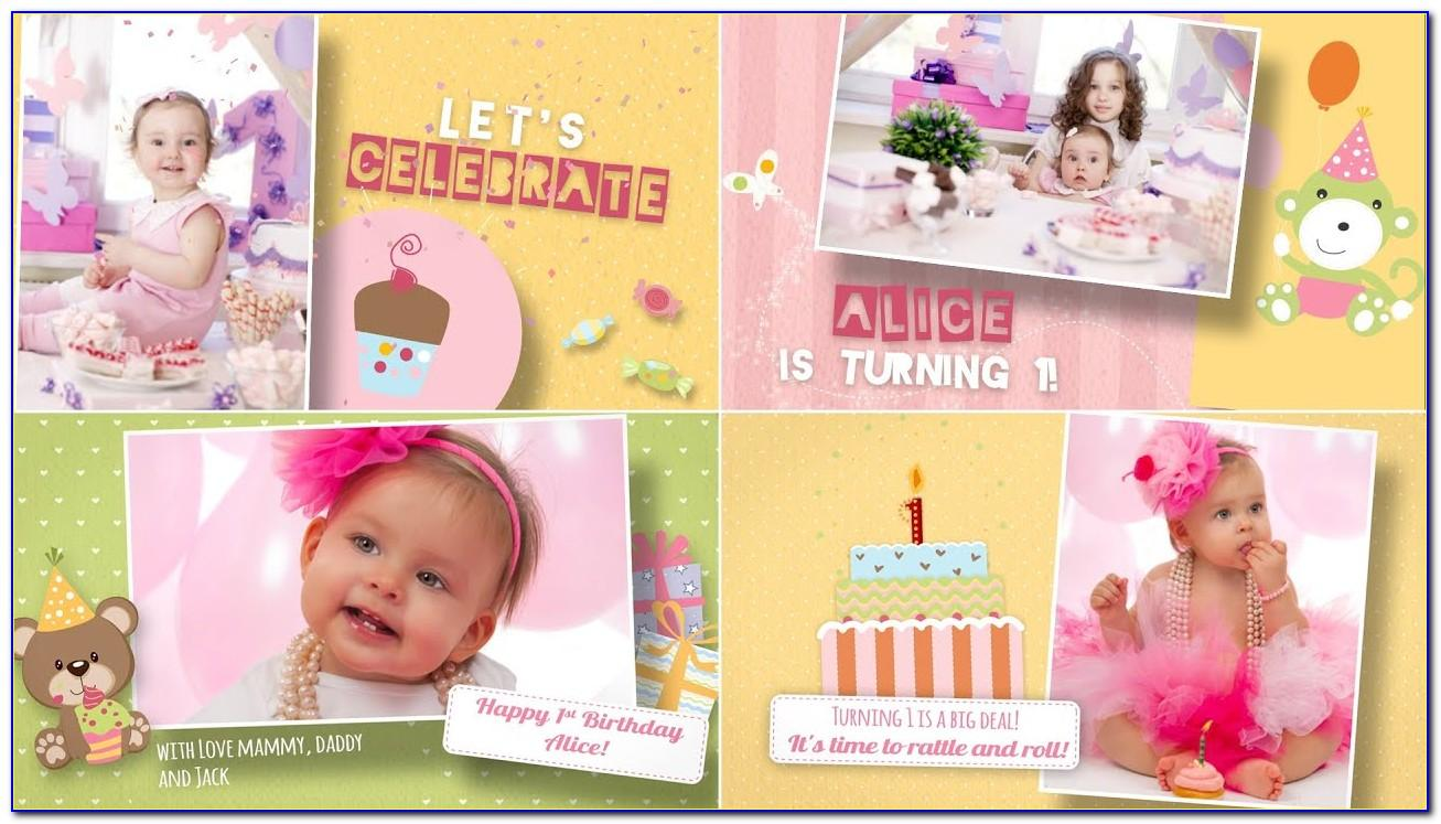 After Effects Birthday Template Free Download