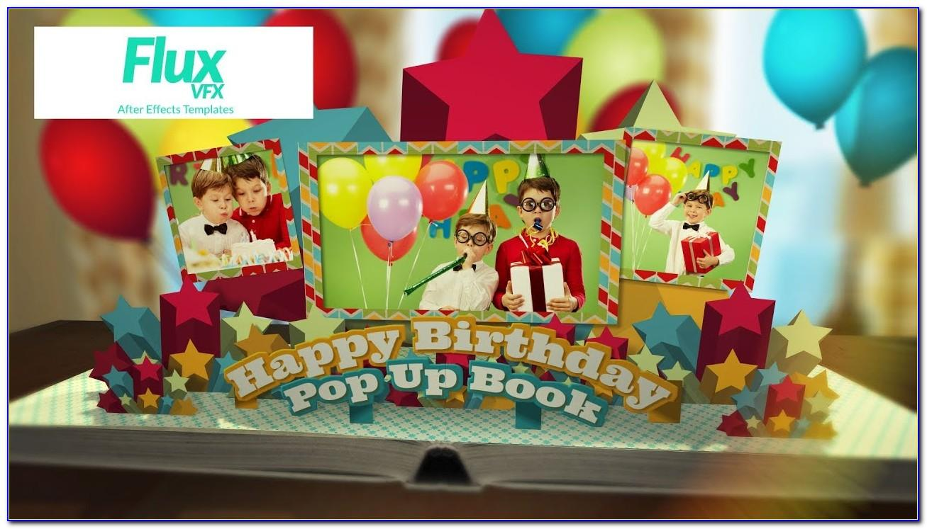 After Effects Birthday Templates Free Download Zip