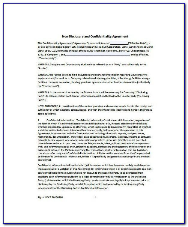 Audit Confidentiality Agreement Template
