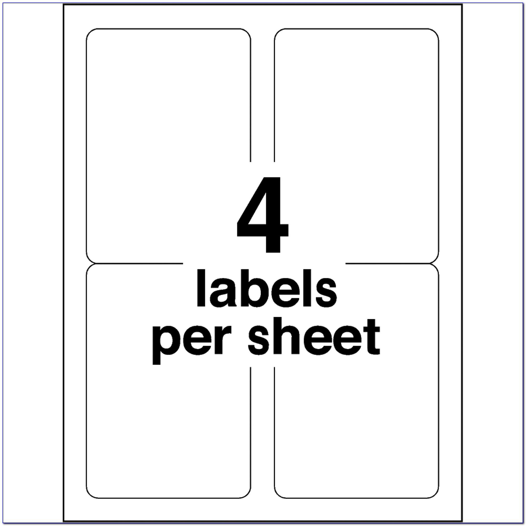 Avery Label 30 Per Sheet Template
