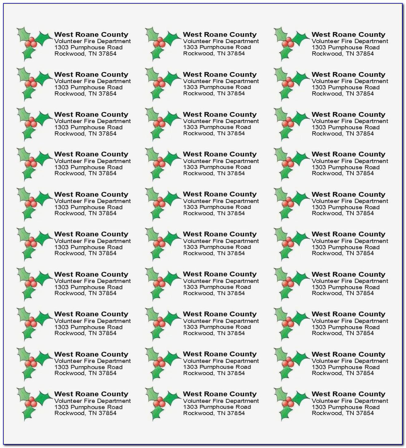 Avery Return Address Labels 80 Per Sheet Template Word