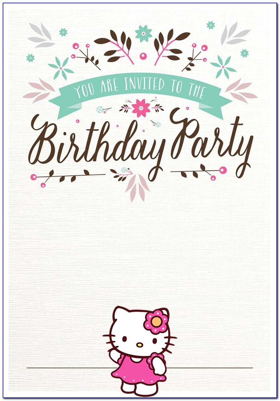 Birthday Invitation Templates Maker
