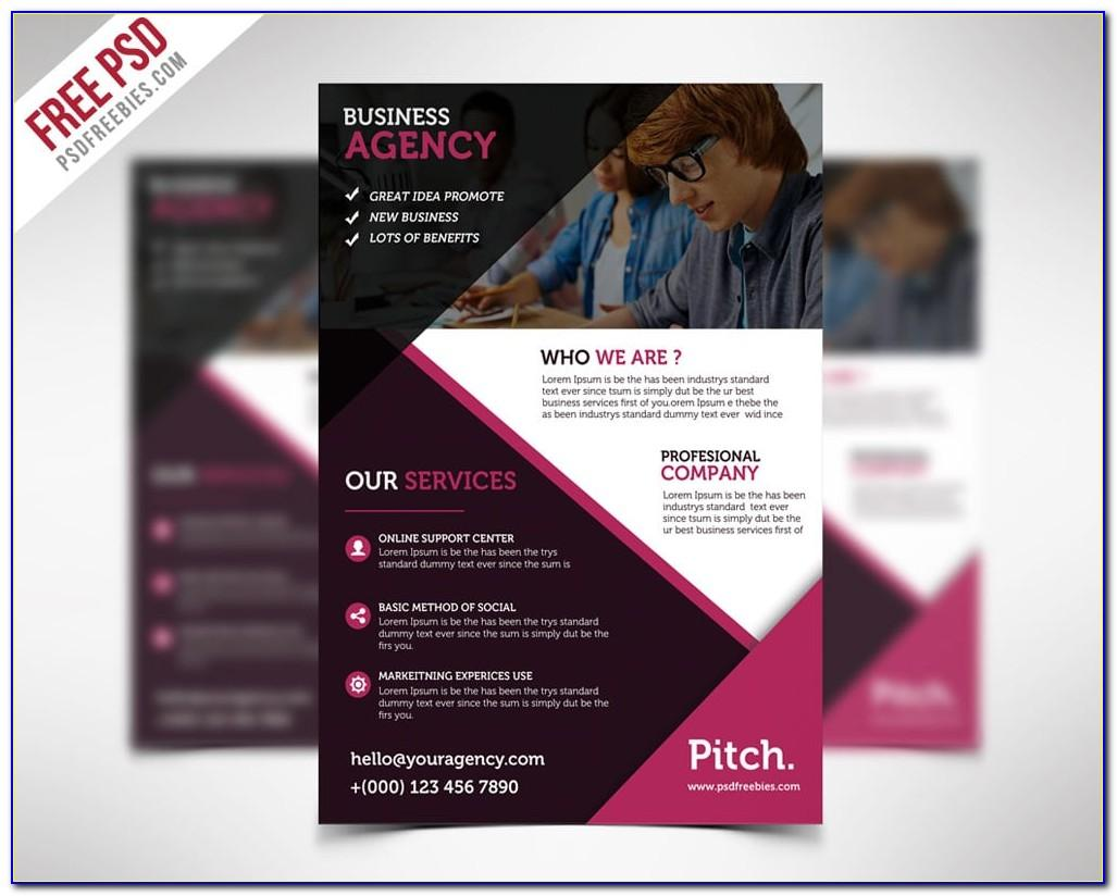 Business Flyer Templates Free Psd