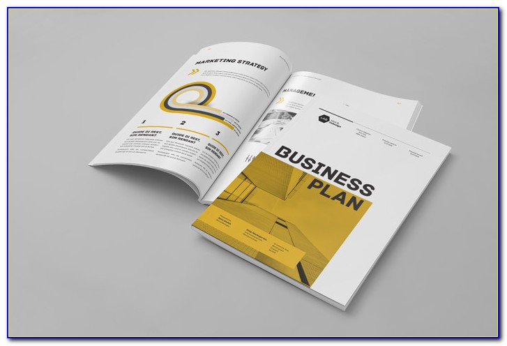 Business Plan Template Indesign Free