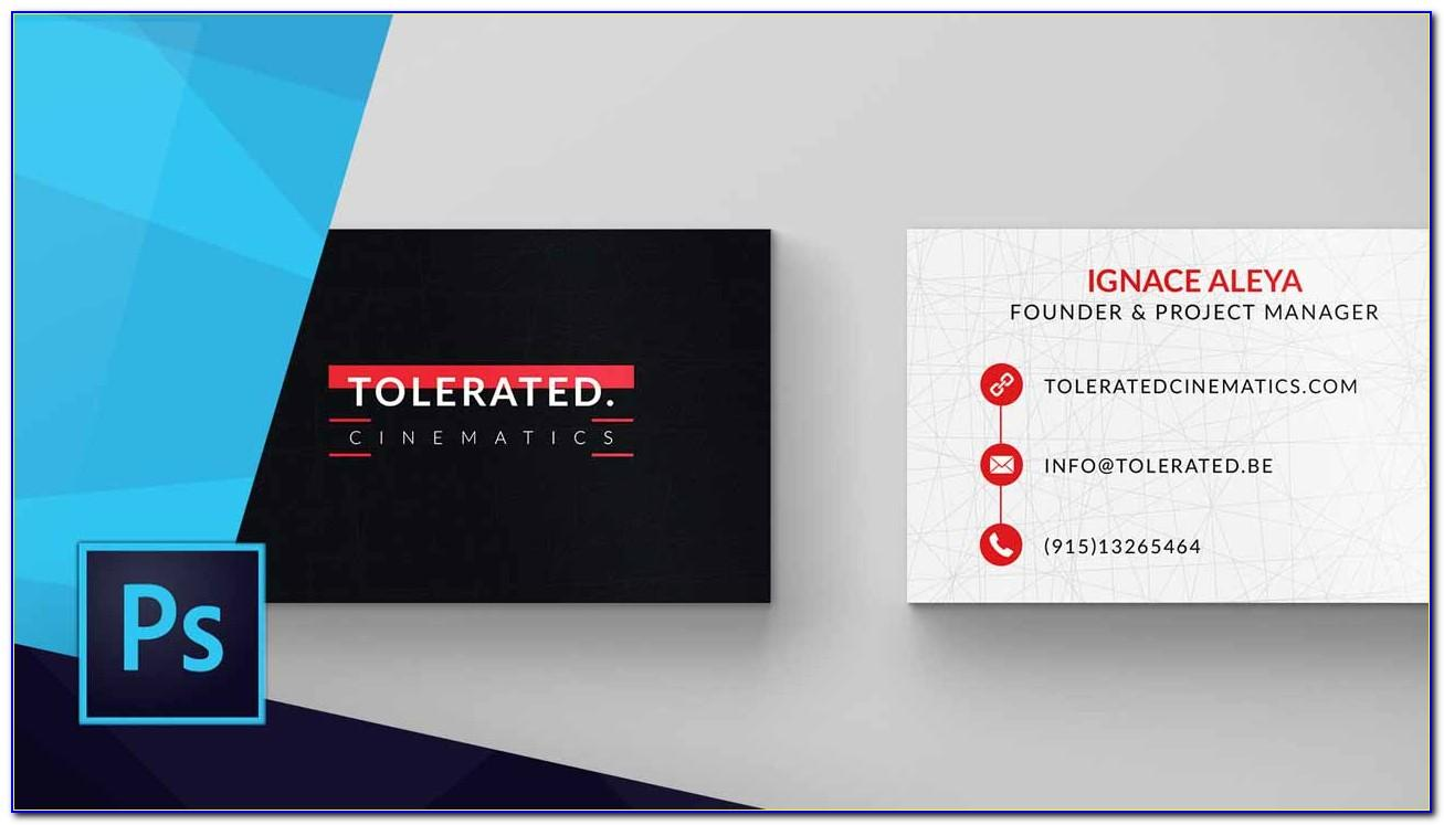 Canon Business Card Template