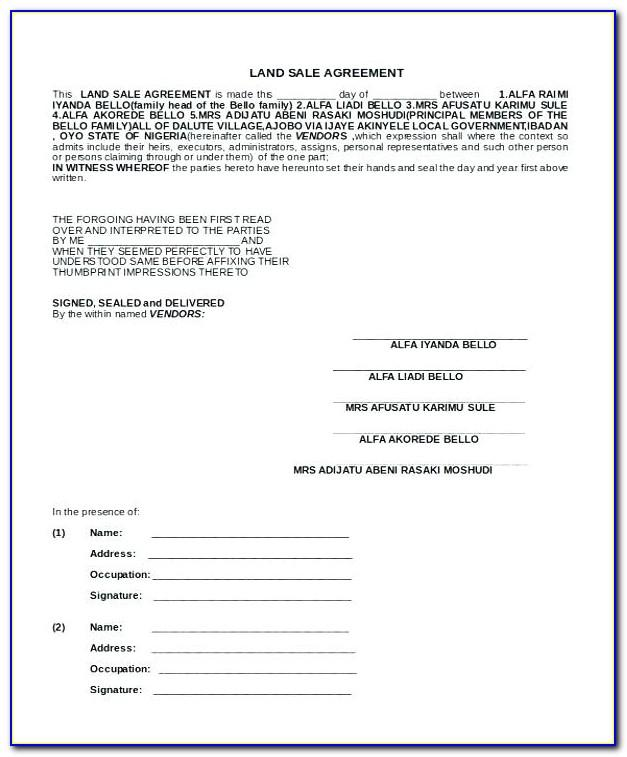 Car Sale Contract Template Australia