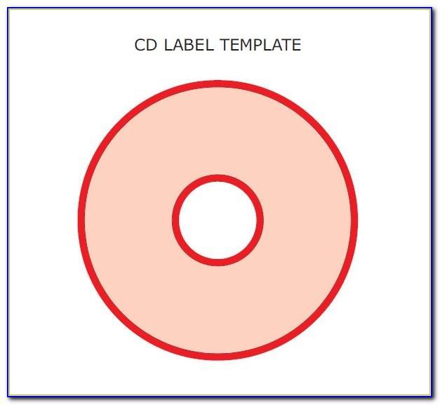 Cd Label Format