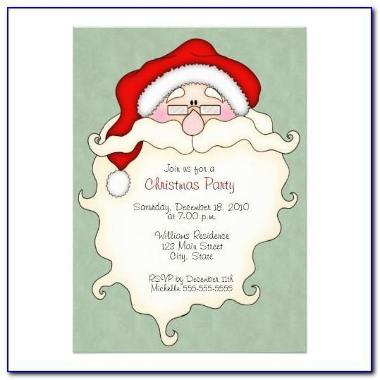 Christmas Lunch Invitation Templates Free Download