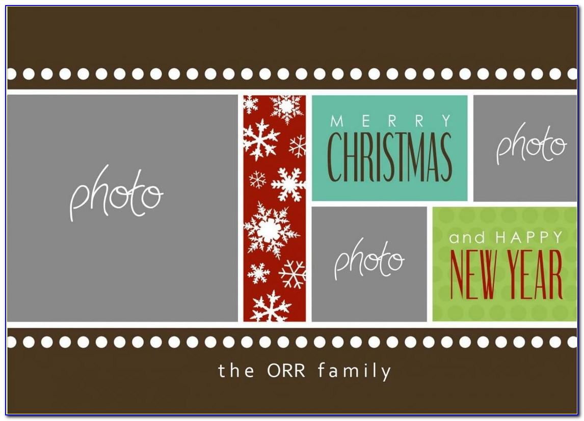 Company Holiday Card Template