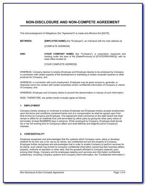 Concierge Service Contract Template