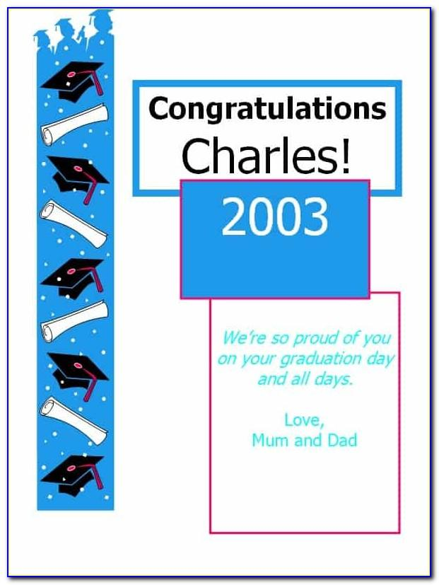Congratulations Baby Card Template Free