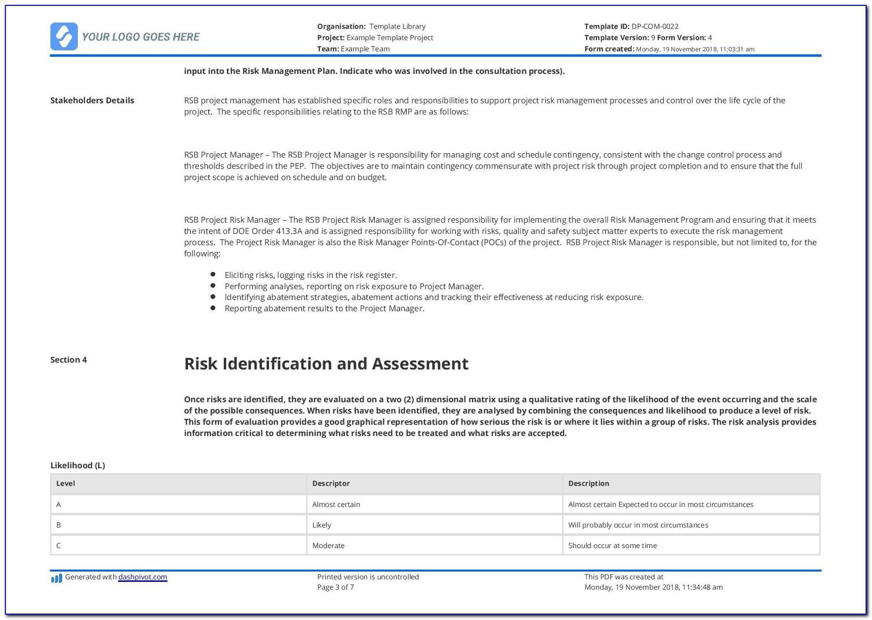 Construction Schedule Gantt Chart Excel Template