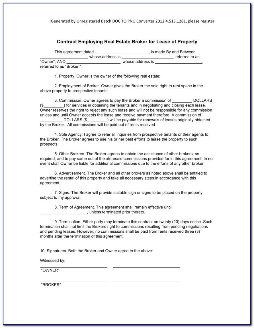 Contractor Contract Template Canada