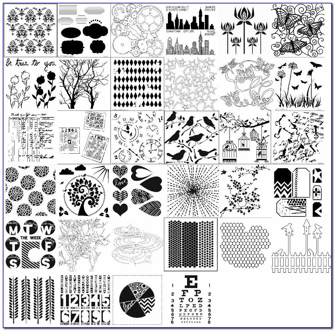 Crafter's Workshop Templates And Stencils