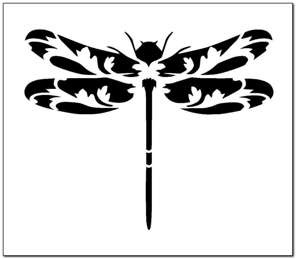 Dragonfly Stencil Designs