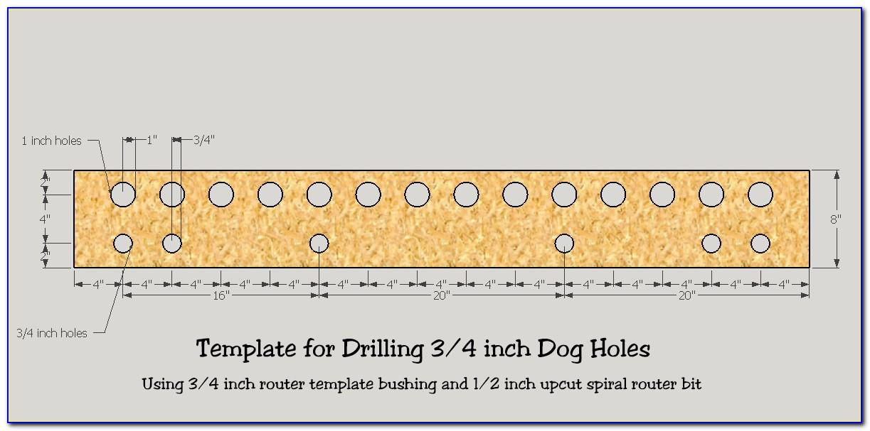 Drill Hole Log Template