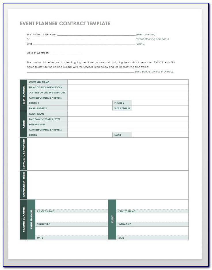 Event Planning Template Microsoft Office