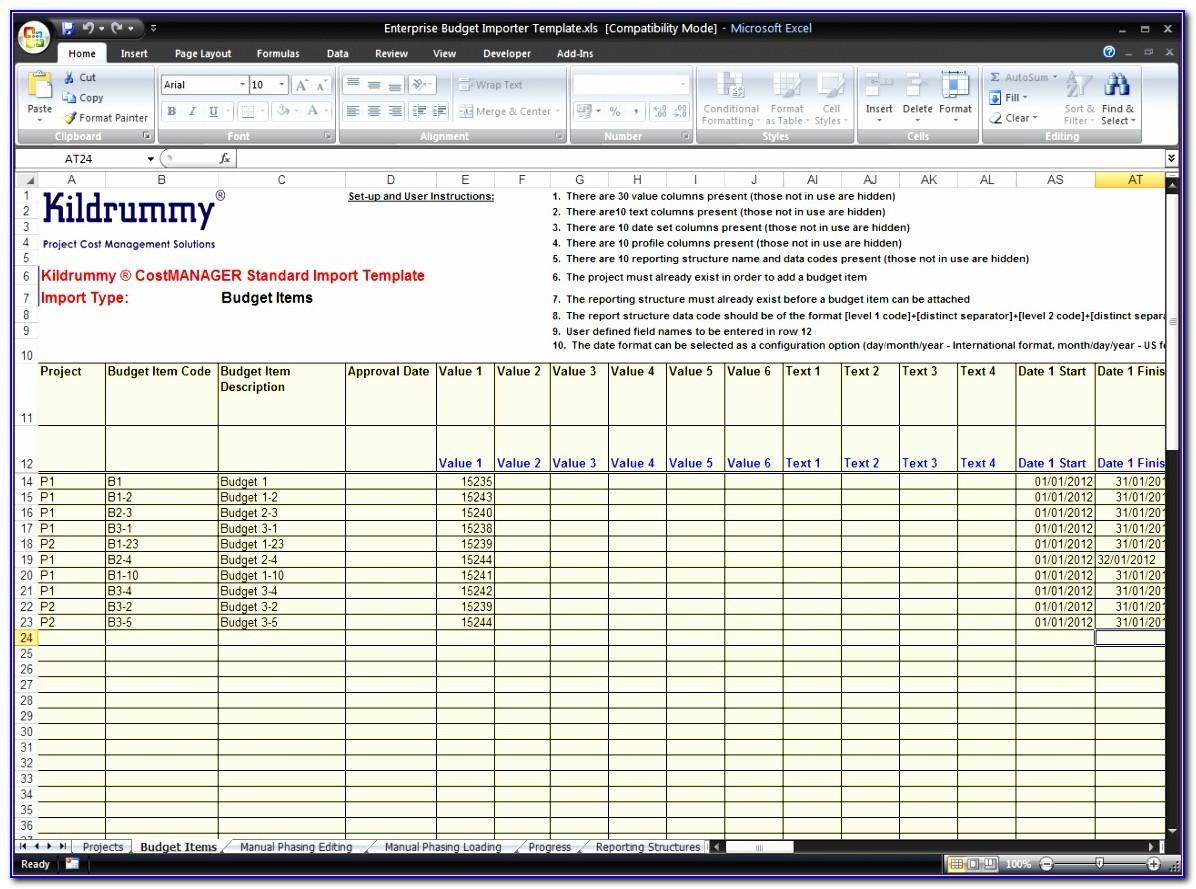 Excel Client Database Template Download