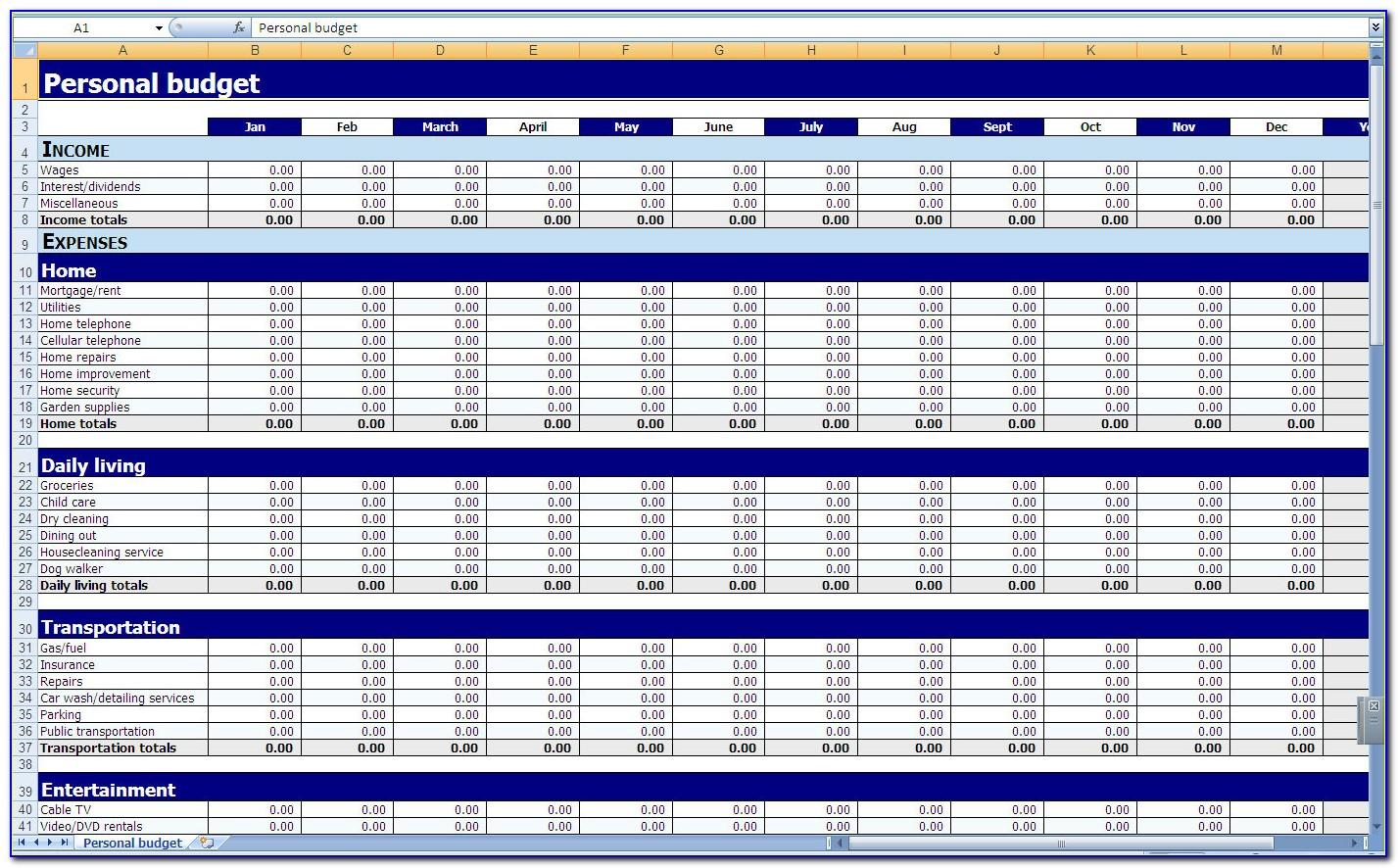 Excel Spreadsheet Templates For Human Resources