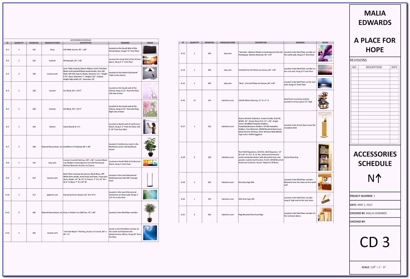 Fccla Interior Design Invoice Template