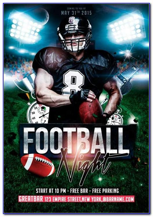 Football Poster Template Psd Free