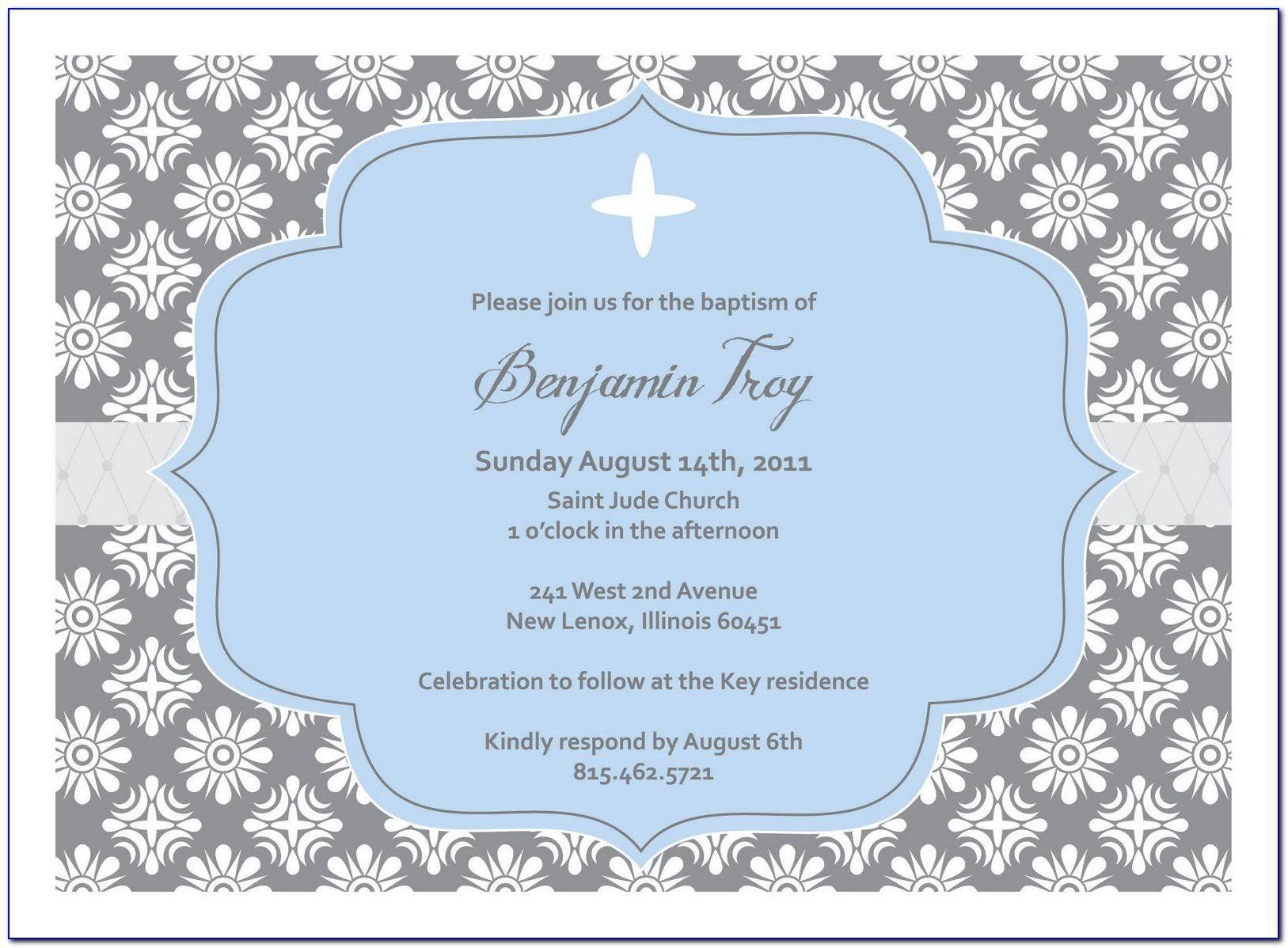 Free 1st Communion Invitation Templates