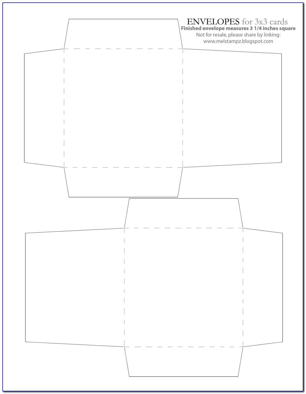 Free 3x3 Label Template