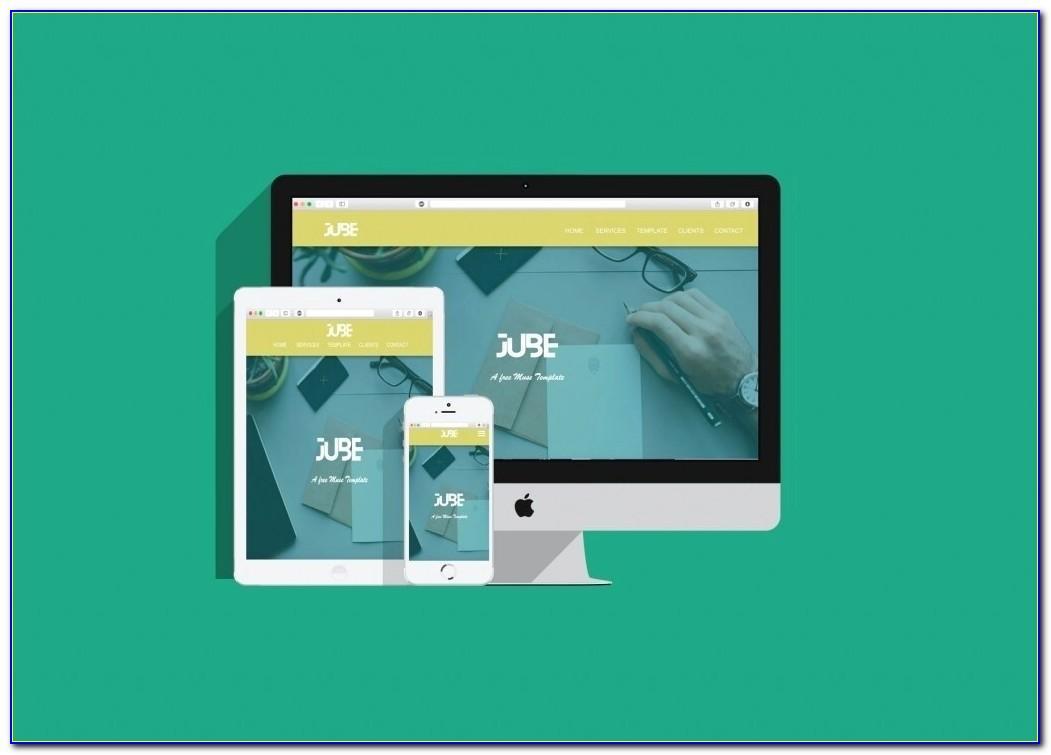 Free Adobe Muse Portfolio Templates