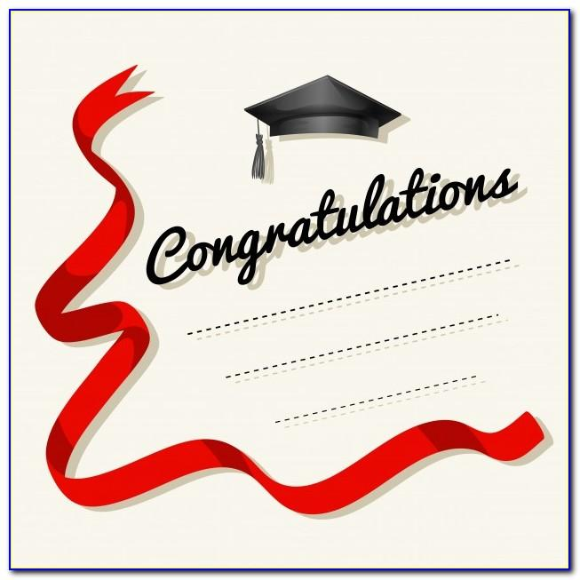 Free Congratulations Card Templates For Word