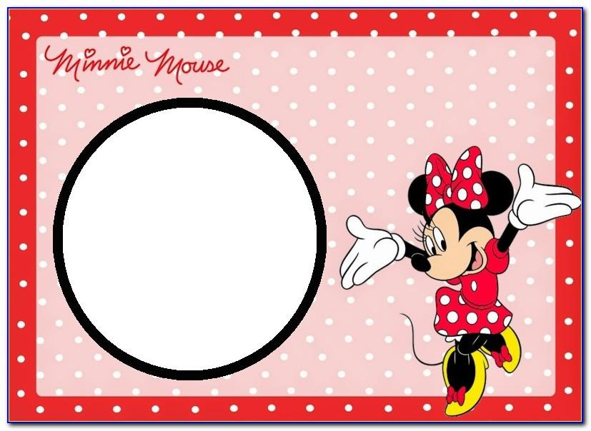 Free Minnie Birthday Invitation Templates