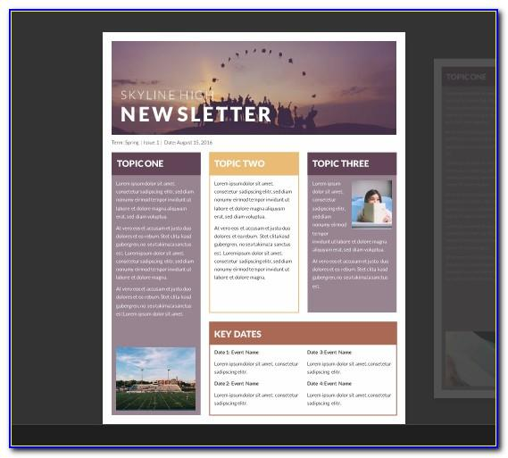 Free Newsletter Templates For Publisher 2010
