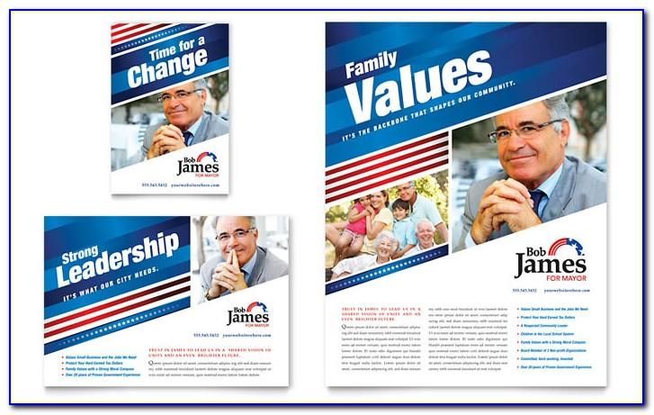 Free Political Brochure Templates