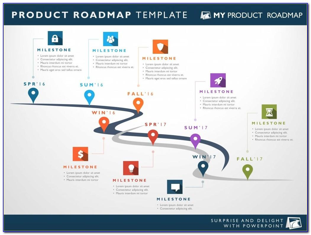 Free Powerpoint Roadmap Template Download